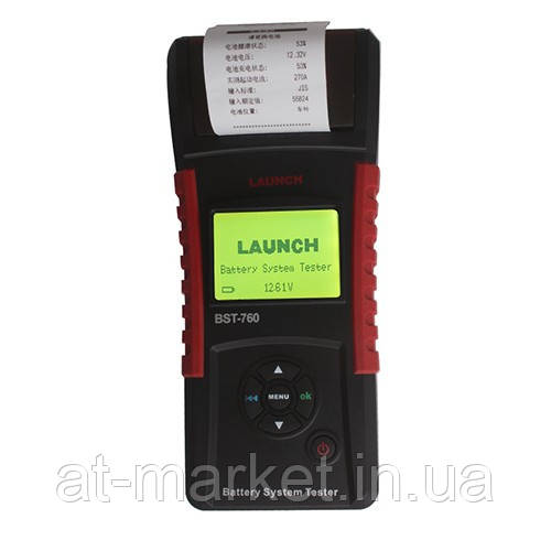 Тестер аккумуляторных батарей LAUNCH BST-760