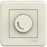 Контроллер громкости аудиорозетка крем Leona Schneider Electric