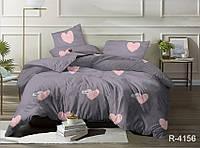 Полуторный комплект постельного белья из ранфорса R4156