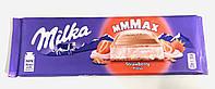 Шоколад Milka Клубника, 300 г