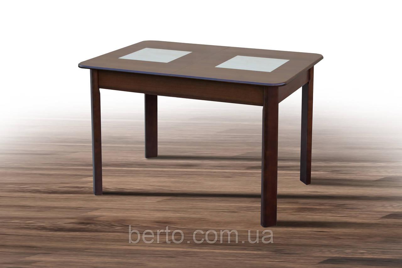 """Обеденный раскладной стол со вставками """"Бостон"""""""