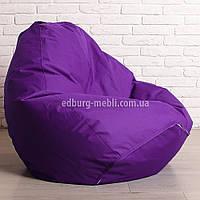 Кресло мешок груша Большой | фиолетовый  Oxford