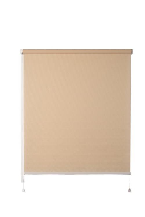 Рулонная штора De zon Edel Mini 61,5х160 см светло-бежевая