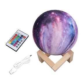 """3D светильник-ночник """"Марс"""" 3DTOYSLAMP с пультом ДУ"""