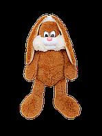 Зайчик Алина Несквик 75 см коричневый, фото 1