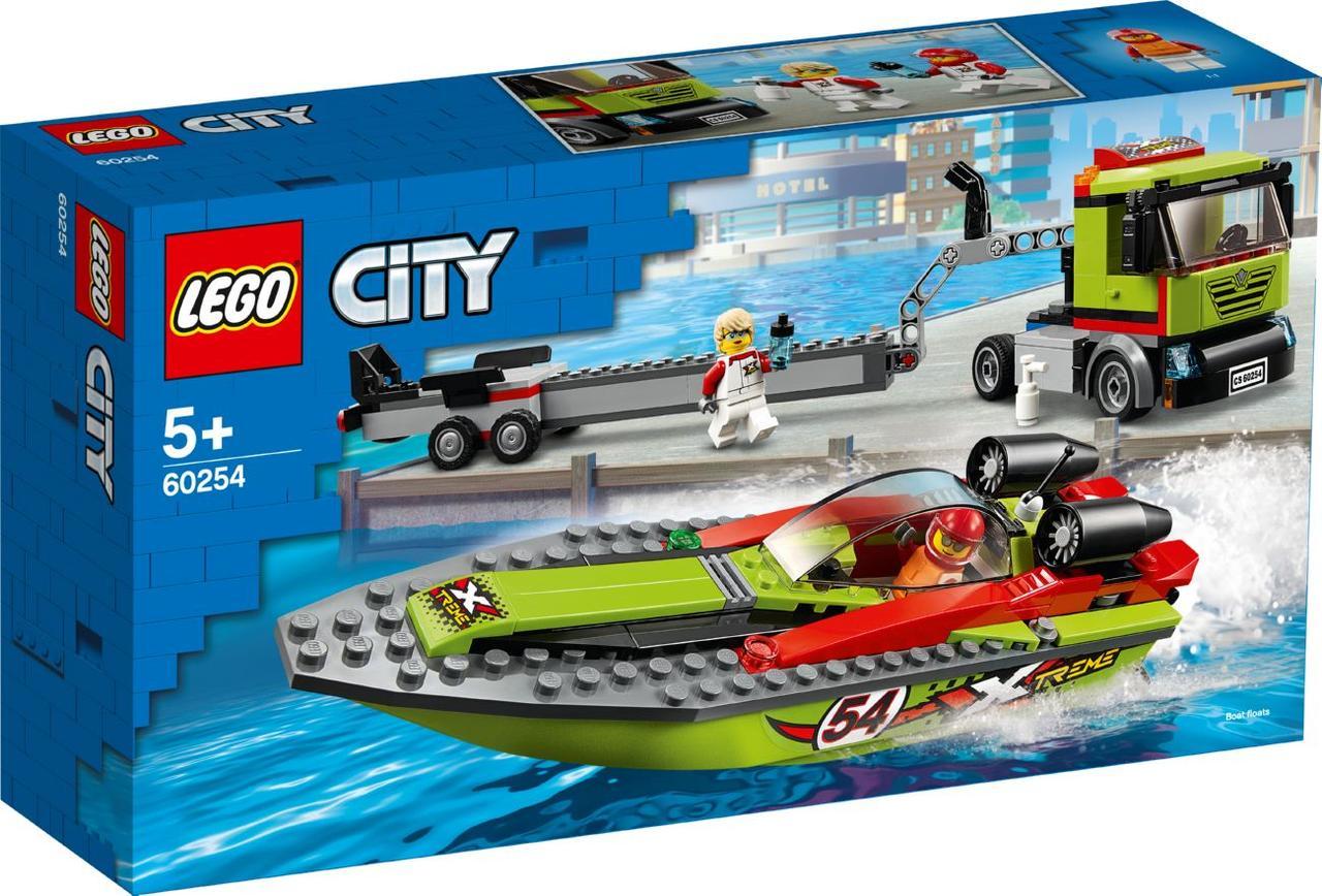 Lego City Транспортировщик скоростных катеров 60254