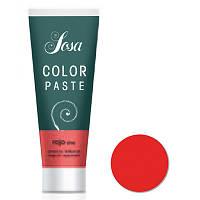 Красный универсальный пастообразный краситель SOSA 10 г (фасовка)