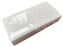 Салфетки косметические для диспенсера V-сложения, 2-х слойные, 21х20 см, 150 листов, белые