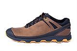 Кроссовки кожаные мужские в стиле Natural Motion olive, фото 6