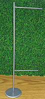 Настольный флагшток баннер металлический, фото 1