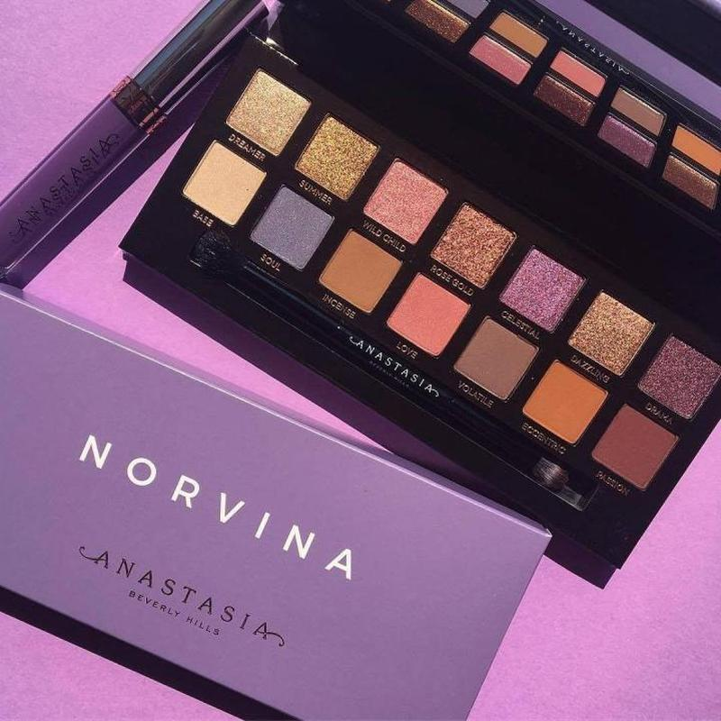 Палетка теней для век Anastasia Beverly Hills Norvina Eye Shadow Palette