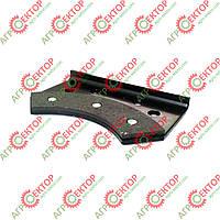 Тормозна колодка зовнішня дискового тормоза в'язального апарата на пресспідбирач Sipma 2012-070-540.00 аналог, фото 1