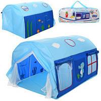 Палатка - шатер детская на колышках арт. 3795