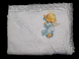 Полотенце для крещения с уголком, Крыжма. Размер 0,70*0,95 м
