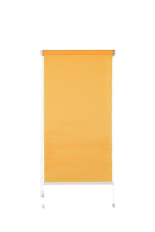 Рулонная штора De zon Edel Standart 120х160 см оранжевая