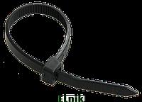 Хомут кабельный Хкн 7,6х300мм нейлон черный (100шт), ИЕК [UHH32-D076-300-100]