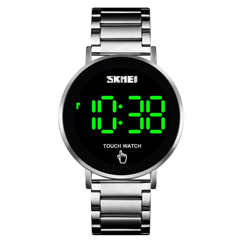 Женские оригинальные часы SKMEI LIGHT II 1550 Серебристые