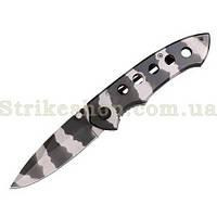 Нож MIL-TEC Camo One Hand Knife With Clip