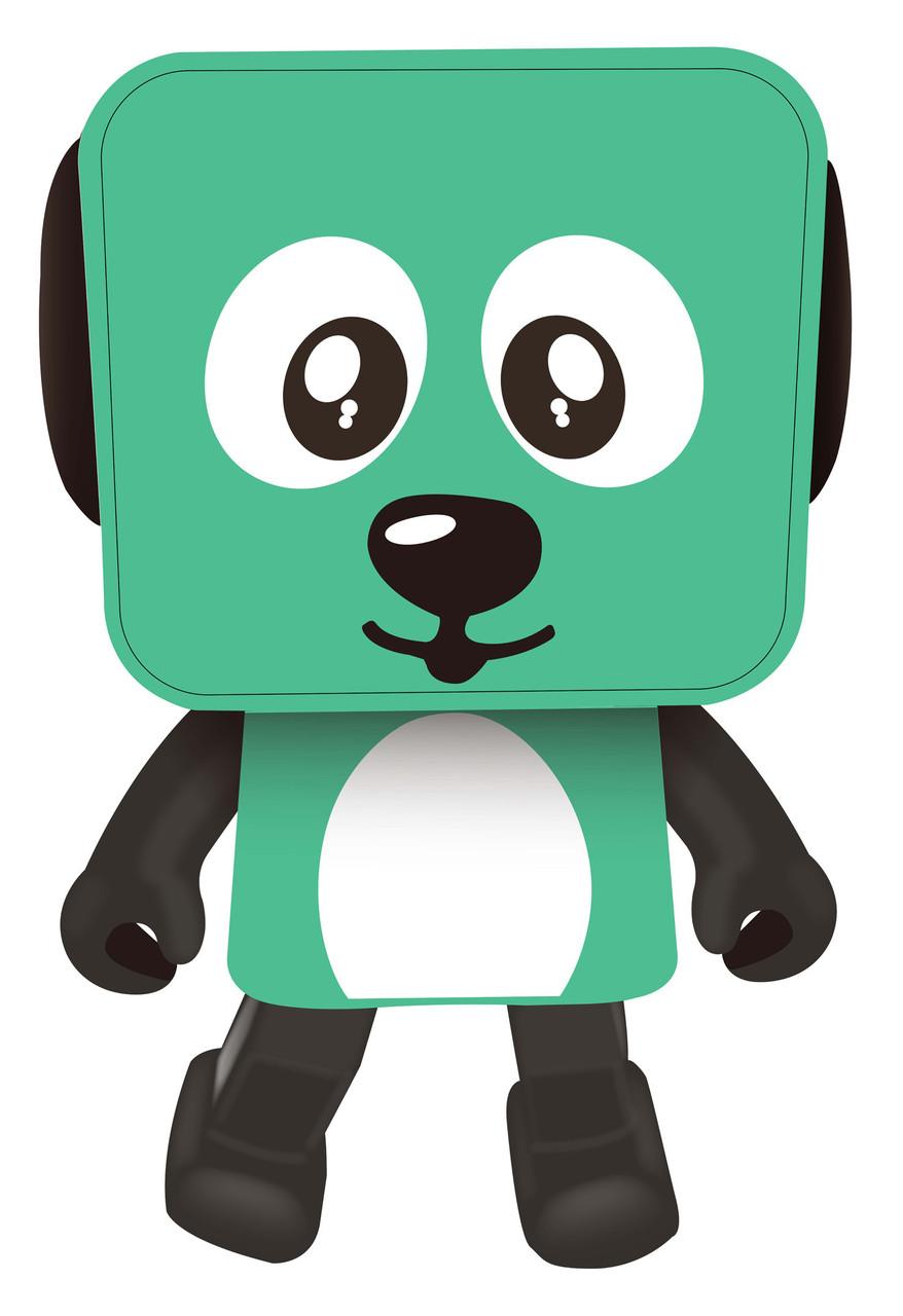 Портативная колонка беспроводная Nomi BT 911 Танцующая собака Зеленый