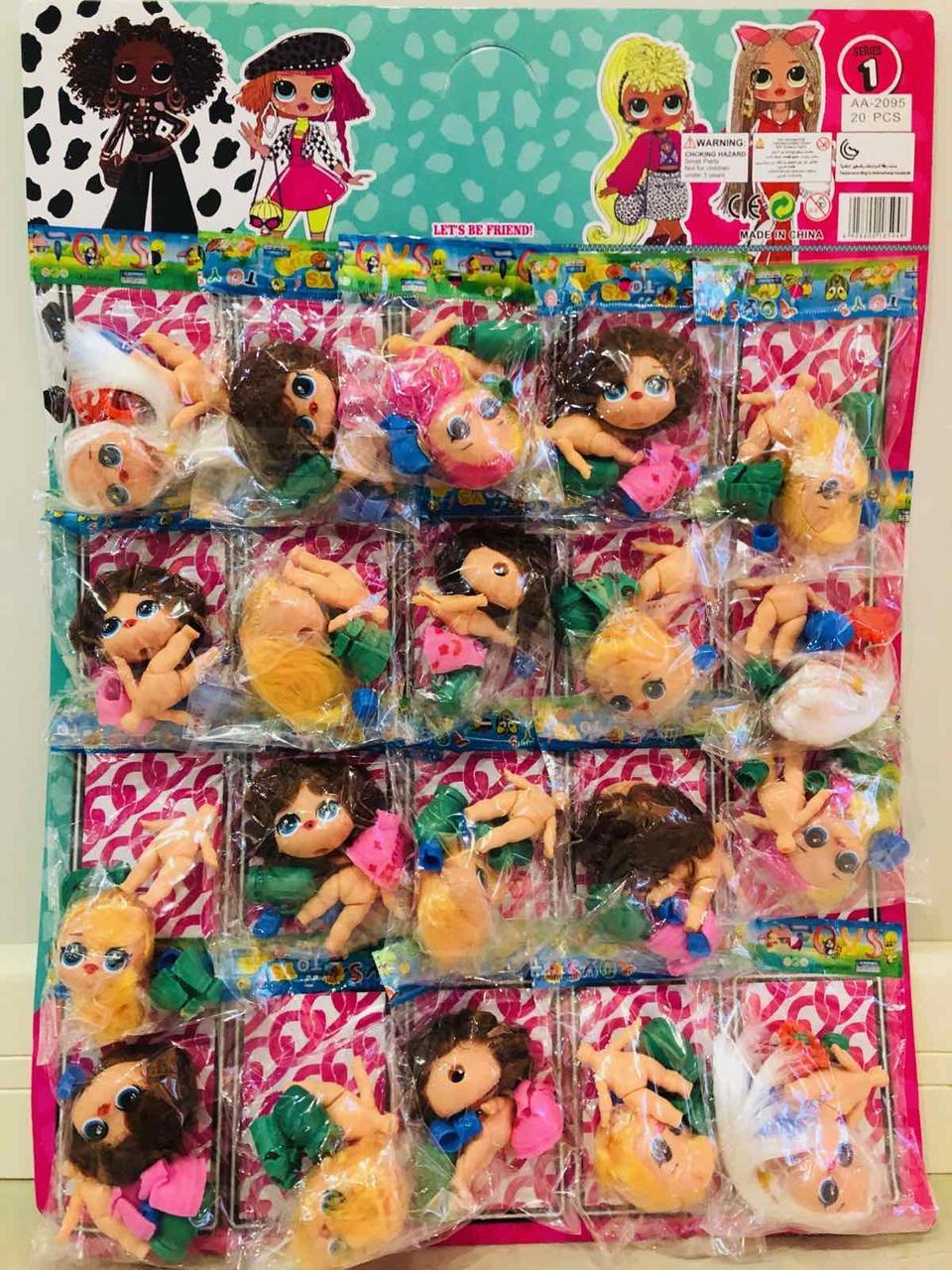 Кукла Лол с волосами / планшет 20 штук