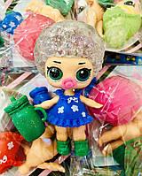 Кукла Лол с волосами глиттер / планшет 20 штук