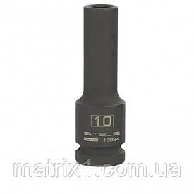 Головка ударная удлиненная шестигранная, 10 мм, 1/2, CrMo Stels