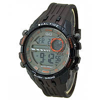 Мужские спортивные часы Q&Q M164J Коричневые