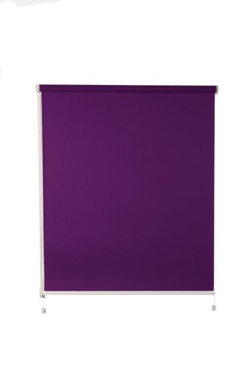 Рулонная штора De zon Edel Standart 140х150 см фиолетовая
