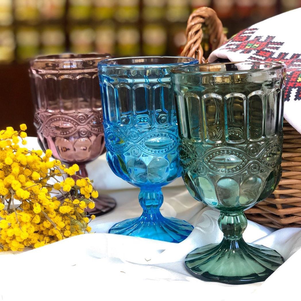 Набор бокалов DS Green Cup для вина 270 мл 6 шт