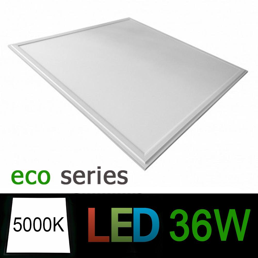 Світлодіодна LED панель 600х600 мм ВБУДОВАНА 36Вт 5000К серія ЕСО