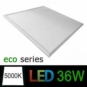 Светодиодная LED панель 600х600 мм ВСТРАИВАЕМАЯ 36Вт 5000К серия ЕСО