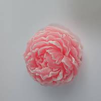 Красивое мыло ручной работы пион 75 грам, фото 1