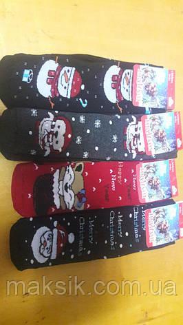 Детские махровые носки Новый год р.5-7, фото 2