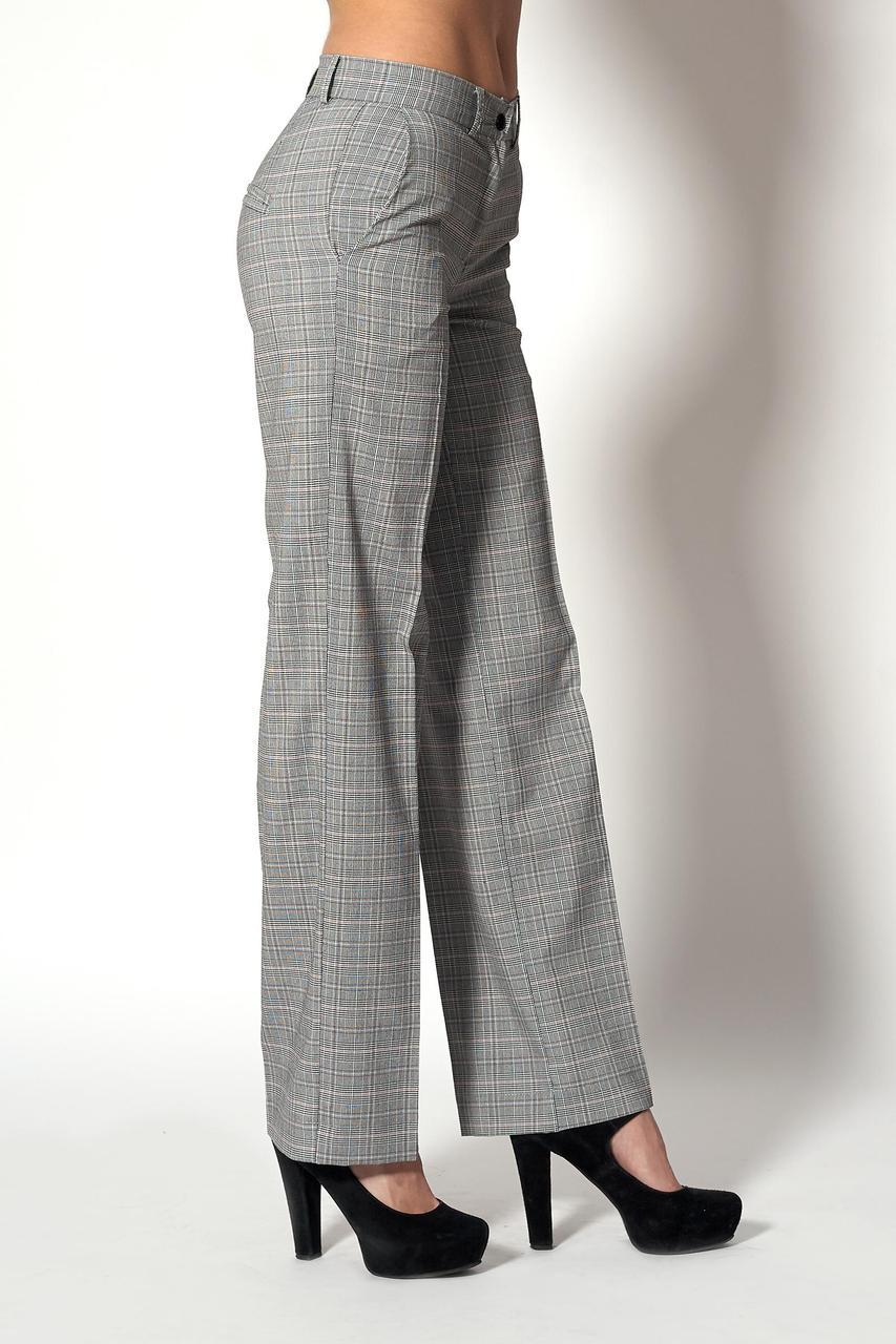 Модные брюки прямого покроя (Код BR-385)