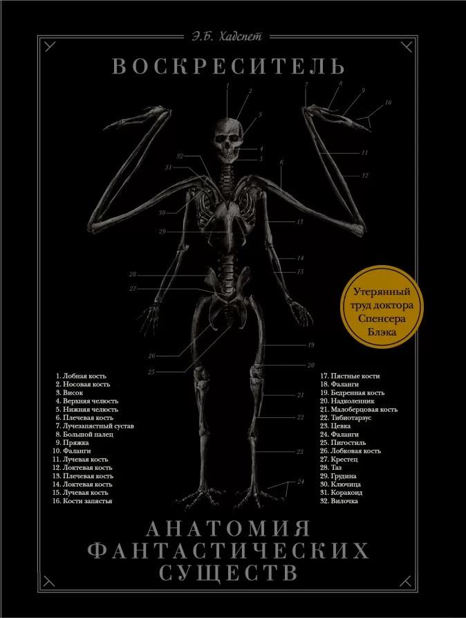 Воскреситель, или Анатомия фантастических существ: Утерянный труд доктора Спенсера Блэка - Эрик Хадспет