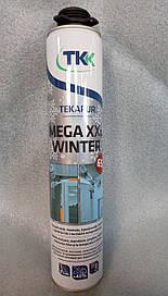 Пена монтажная зимняя Tekapur Mega Winter, GUN