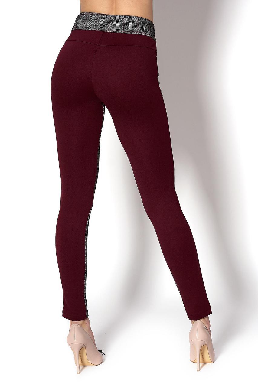 Стильные брюки-лосины с полоской (Код BR-404)