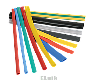 Трубка термоусадочная ТТУ 25/12,5 красная (50м/упак), ИЕК [UDRS-D25-50-K04]