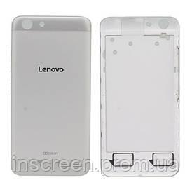 Задня кришка Lenovo A6020a40 Vibe K5, A6020a46 Vibe K5 Plus, Lemon 3 срібляста