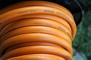 Шланг садовый Tecnotubi Orange Professional для полива диаметр 3/4 дюйма, длина 15 м (OR 3/4 15), фото 2