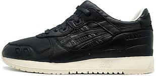 Кроссовки Asics Gel Lyte 3 Black Leather