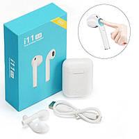 Сенсорные Беспроводные Наушники Apple Airpods i11 TWS Bluetooth