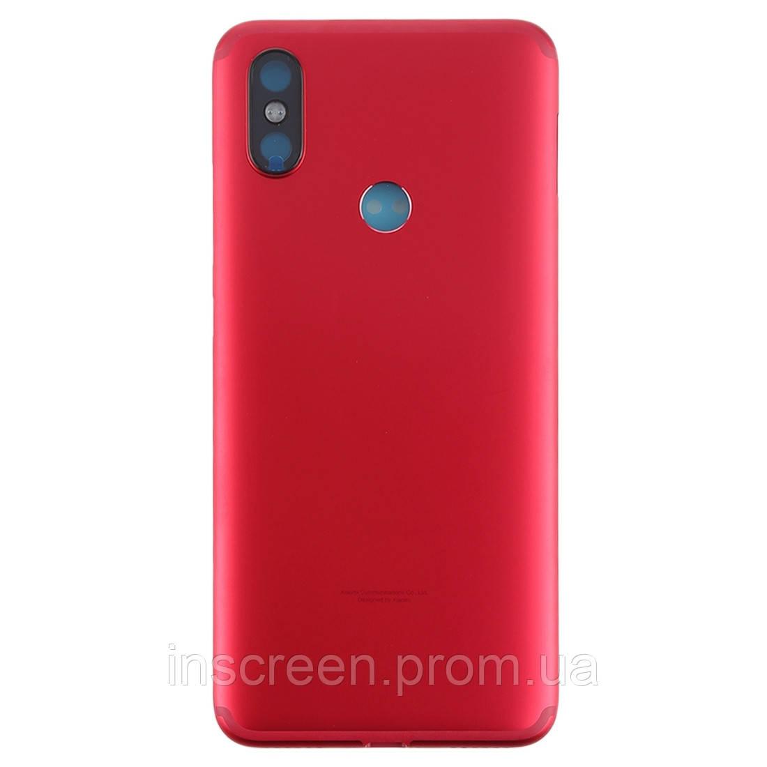 Задняя крышка Xiaomi Mi A2, Mi6x красная