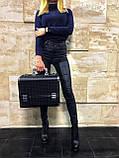 Кейс для косметики Велюр (черный), фото 3