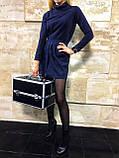 Кейс для косметики Велюр (черный), фото 7
