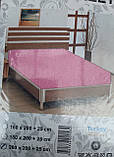 Простыня на резинке трикотажная евроразмер, фото 9