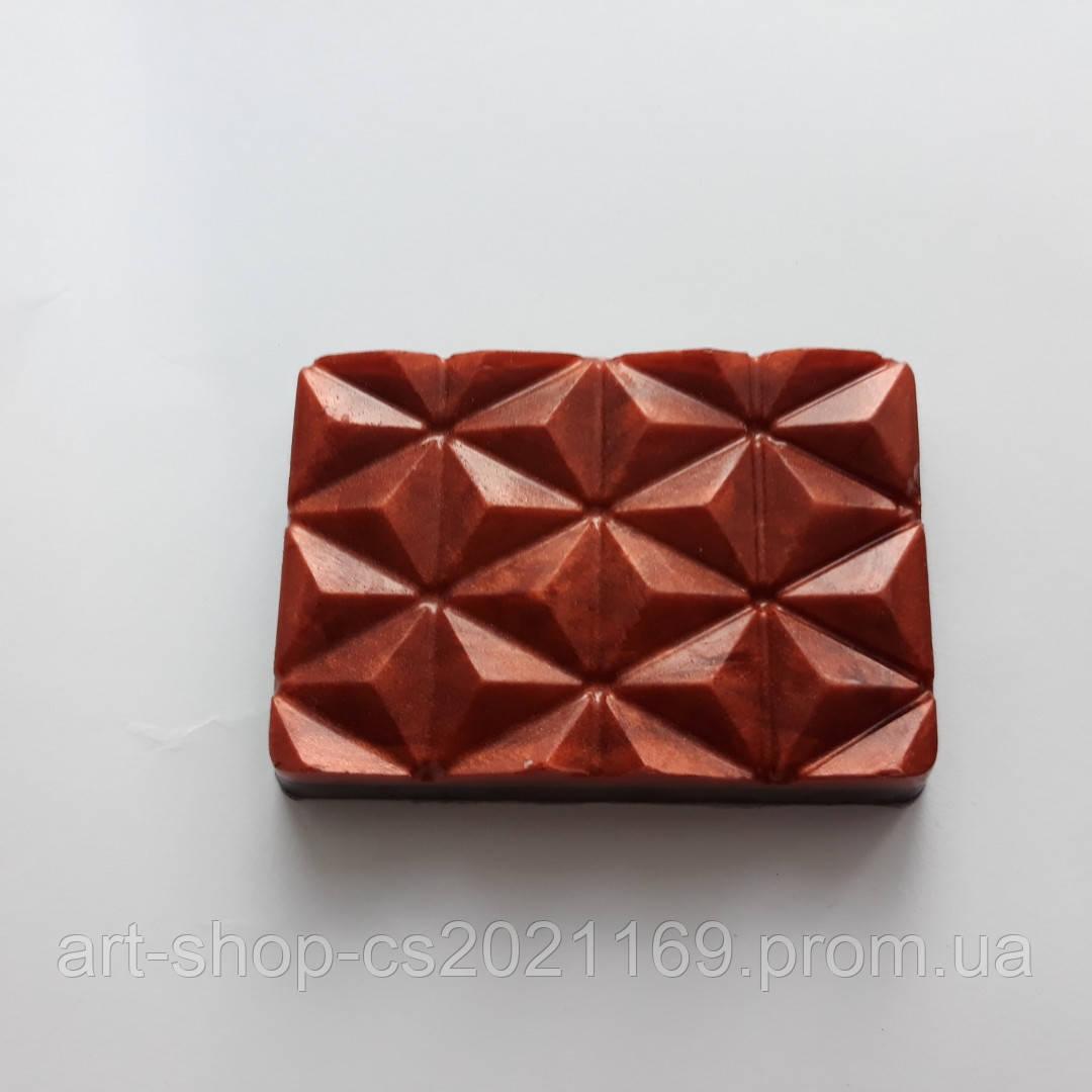 Мыло шоколадка ручной работы мило