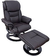 Кресло с массажем Bonro 5099 Brown (45000002)