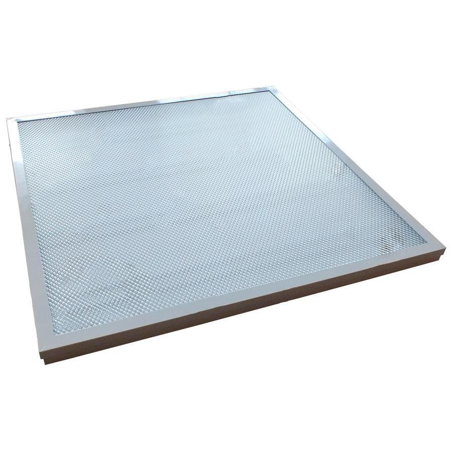 Світильник квадратний врізний 36 Вт, 600х600х45 мм, Works LP3665-SS LED (68373)