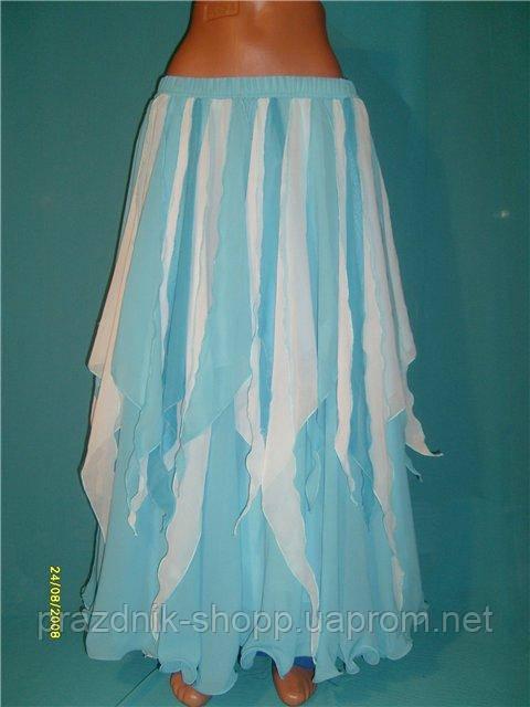 Юбка для восточных танцев- Лепестки. Разные цвета.